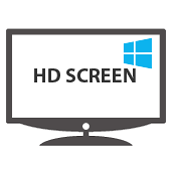 HD digital signage screen