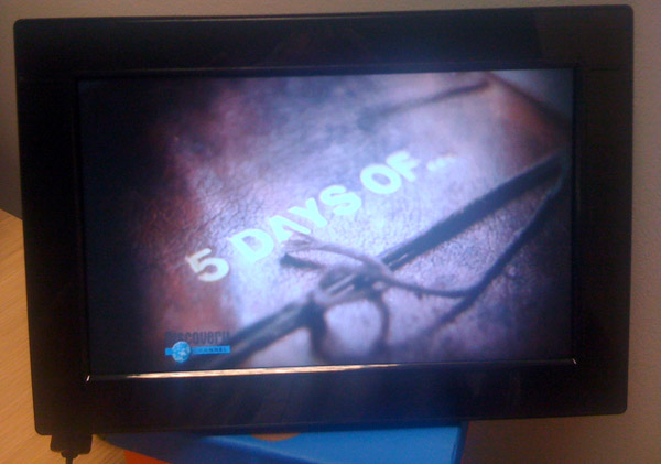 Video Playing on SMIL photo frame