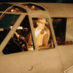 pilot in plane