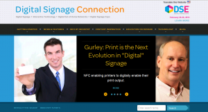 digital signage connections page