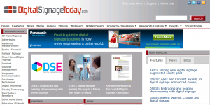 Digital signage today page