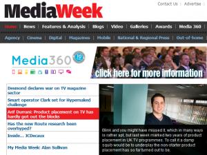 Media week page