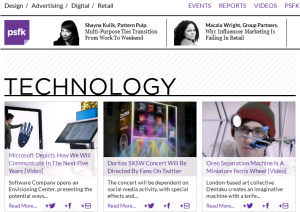 PSFK page