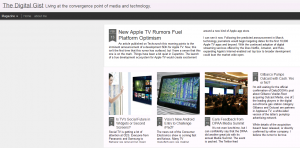 The digital gist page