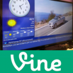 Digital signage and Vine