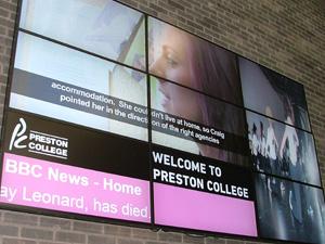 preston-college-video-wall
