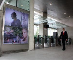 large digital signage display