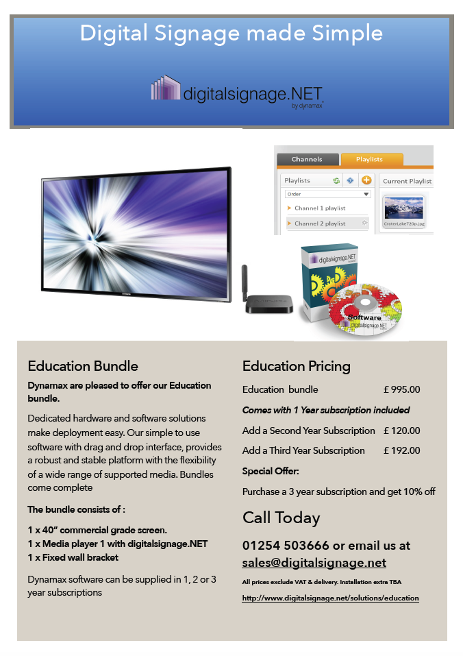 Education bundle