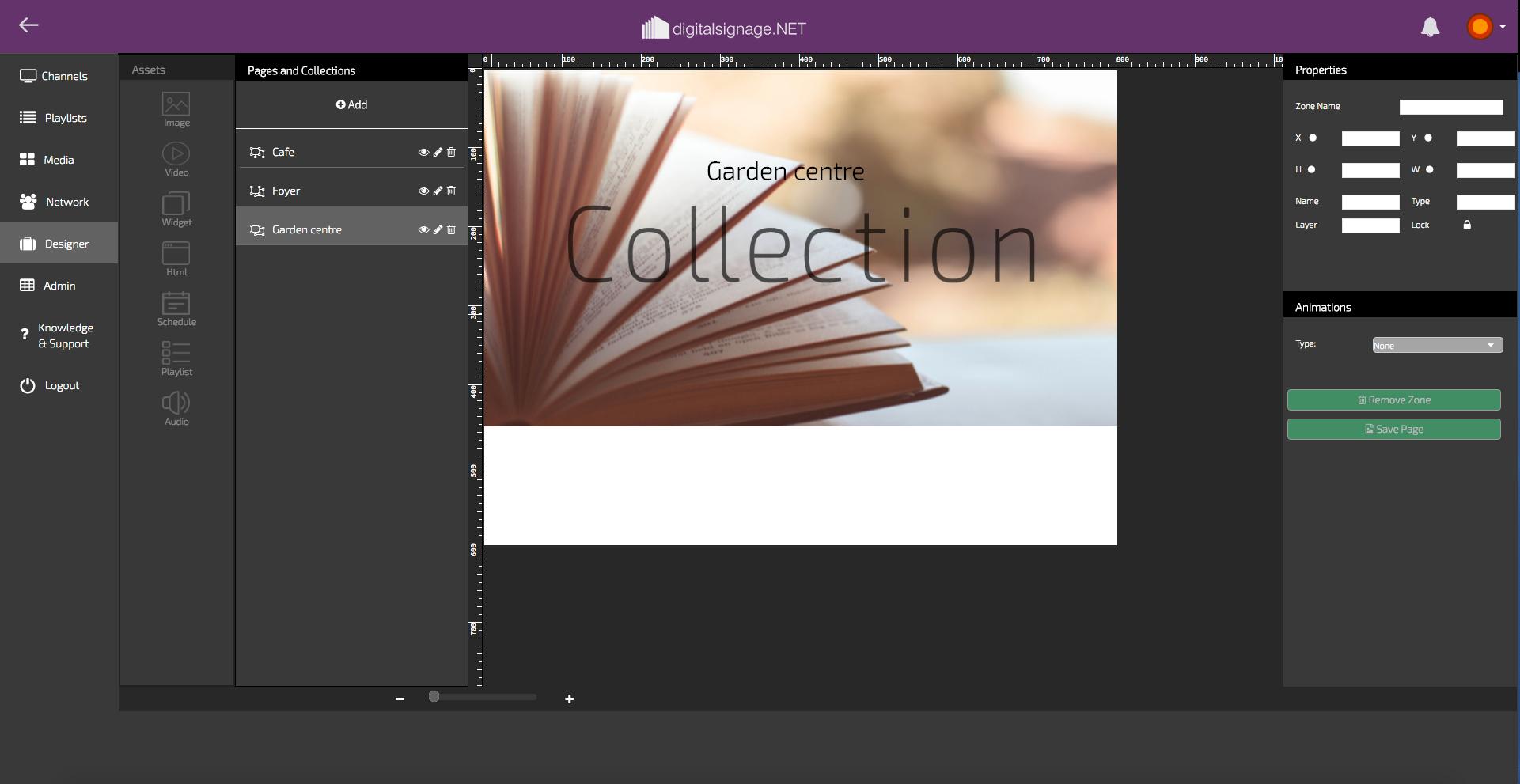 digitalsignage.net core-editon-designer