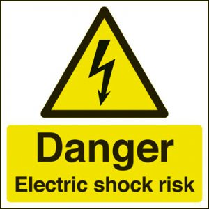 electric shock symbol
