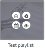 digitalsignage.net Playlist icon