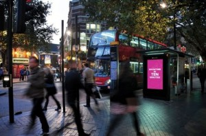 Outdoor Digital Signage for London