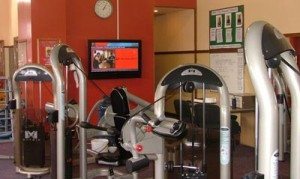 fitness centre and digital signage