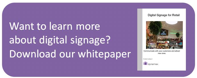 digital signage increase customer loyalty