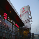 digital signage for entertainment Genting arena