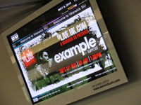 Warwicks Students Union Digital Displays
