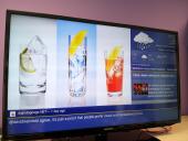digital information display run by Dynamax