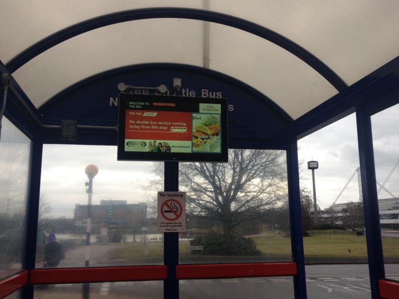 Digital information display