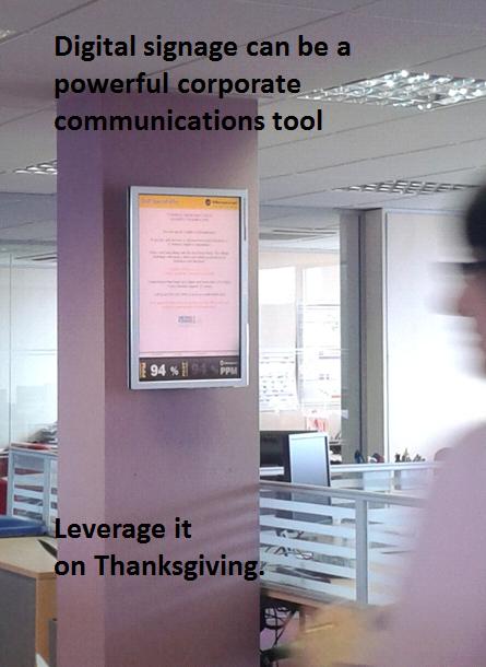 SaaS digital signage from Dynamax