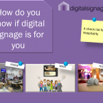 Digital media signage checklist (hospitality)