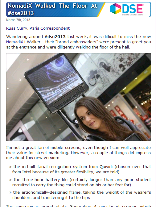 Digital Signage News and Commentary