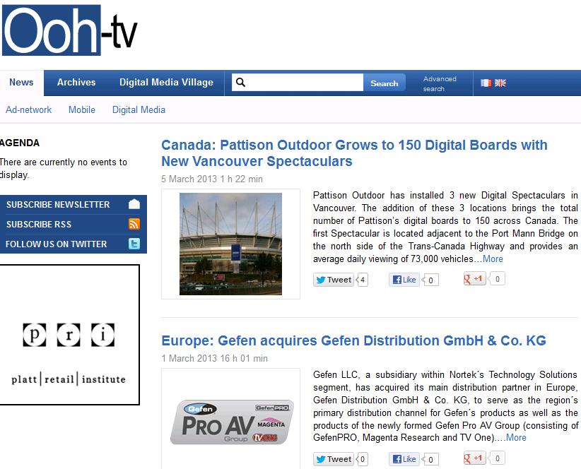 Recommended Digital Signage Publication