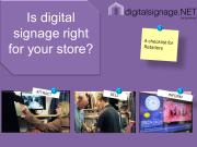 Digital Signage Infographic