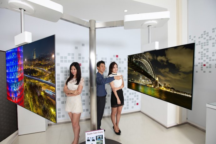 55-inch-Double-sided-Display
