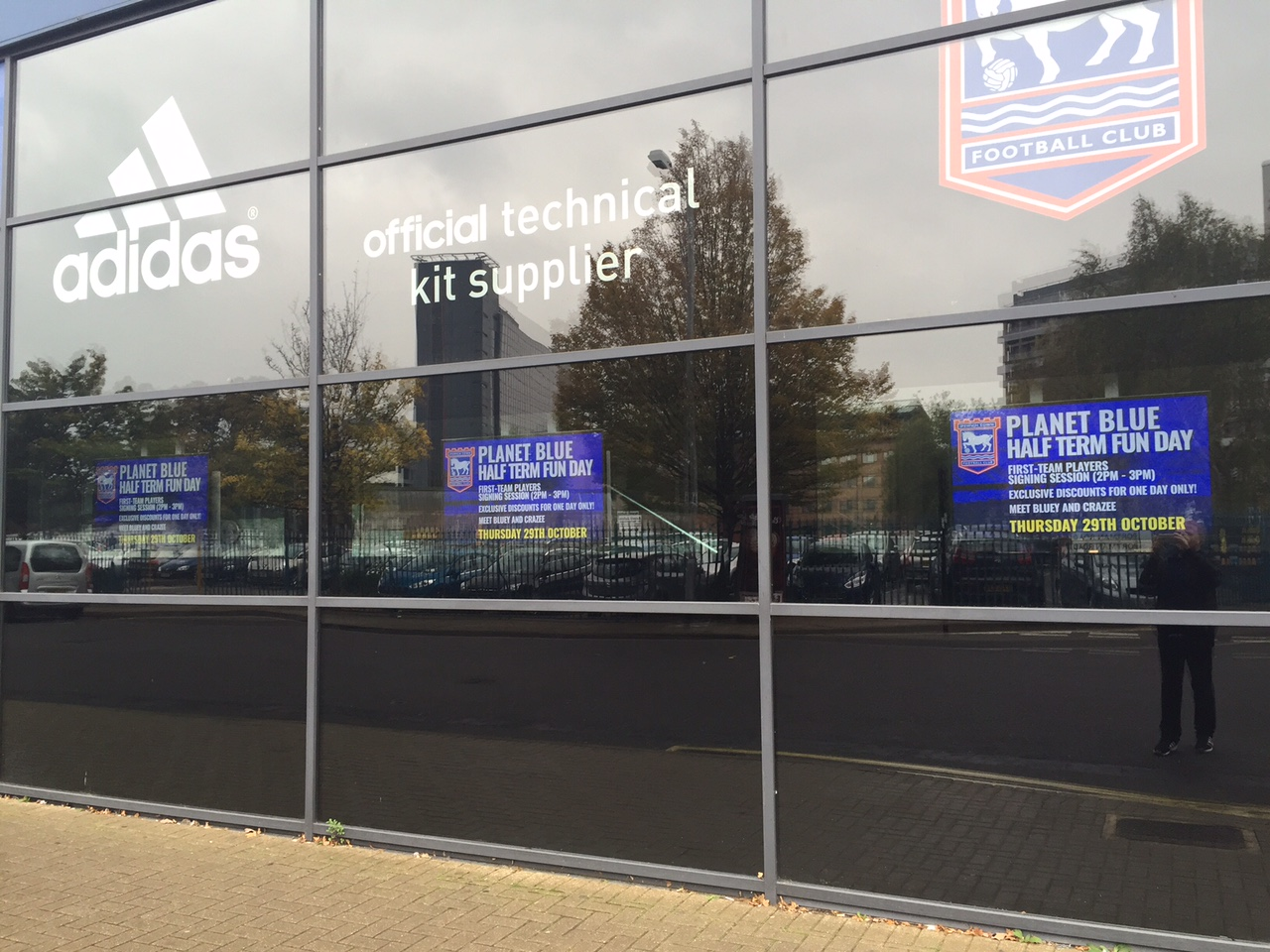 Ipswich Town club shop external