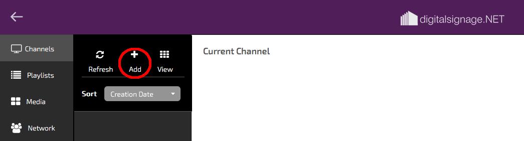 digitalsignage.NET new channel