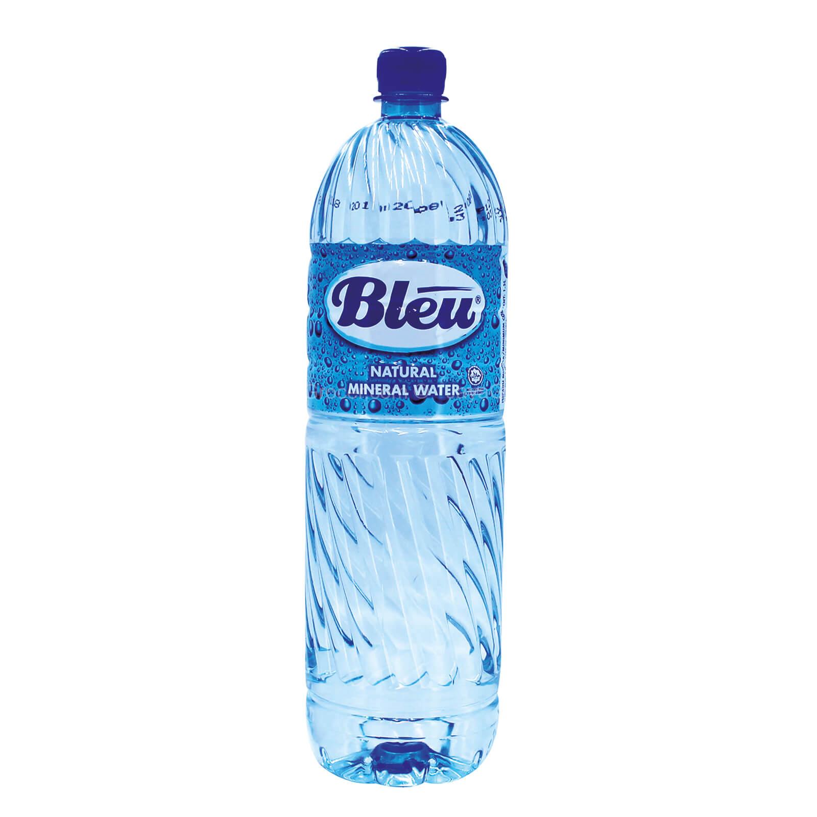 Blu mineral water