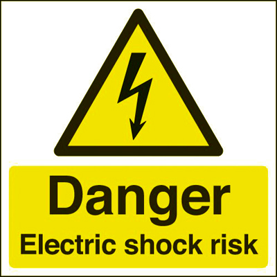 electric shock symbol