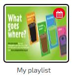 digital signage Channel Playlist
