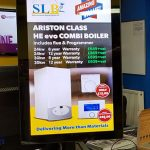 Counter top digitalsignage