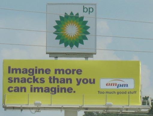 BP sign spelling fail