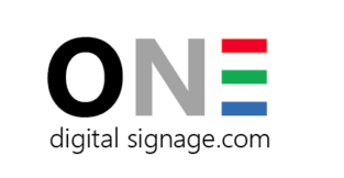 One digital signage
