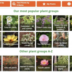 Plant finder application